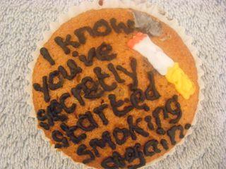 passive-aggressive cake